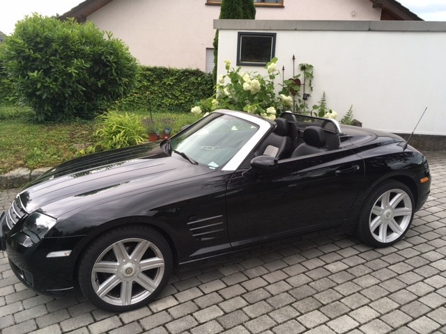 chrysler crossfire roadster. Black Bedroom Furniture Sets. Home Design Ideas